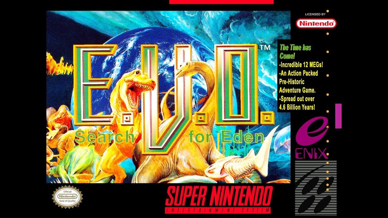 Zerando EVO Search for Eden (SNES) - YouTube