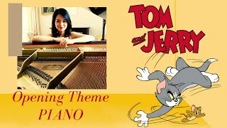 Tom and Jerry opening theme piano cover classic Scott Bradley MGM