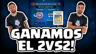 EL MEJOR MAZO PARA EL DESAFÍO 2VS2, 15 VICTORIAS CON KANARIO DE G2 ESPORTS | Malcaide Clash Royale