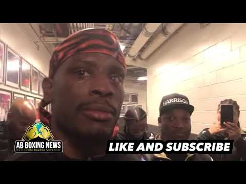 "Tony Harrison: "" I'm no judge , I WON ! Follow game plan to beat Jermell Charlo!"""