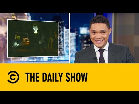 Donald Trump Slams The FBI's Raid Etiquette | The Daily Show with Trevor Noah