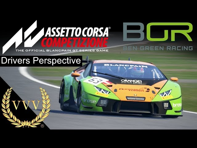 Assetto Corsa Competizione, Hands-on - Ben Green Racing