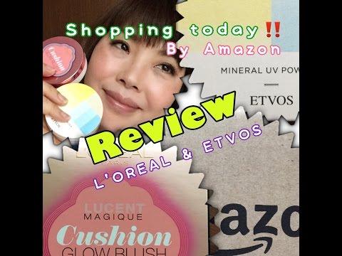 【本日の購入品】クッションチーク&ミネラルパウダー New makeup Haul!   YORIKO makeup