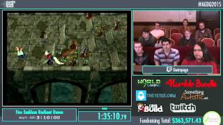 Awesome Games Done Quick 2015 - Part 78 - Fire Emblem Radiant Dawn by Gwimpage