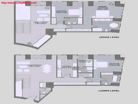 Index Tower Floor Plans Infinity Cayan Tower Duplex Very