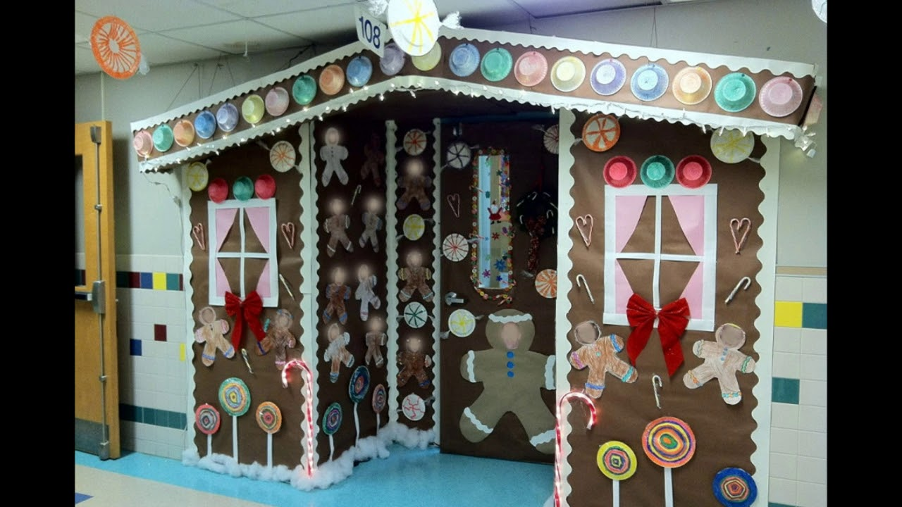 Apartment Door Decorating Ideas For Christmas Youtube