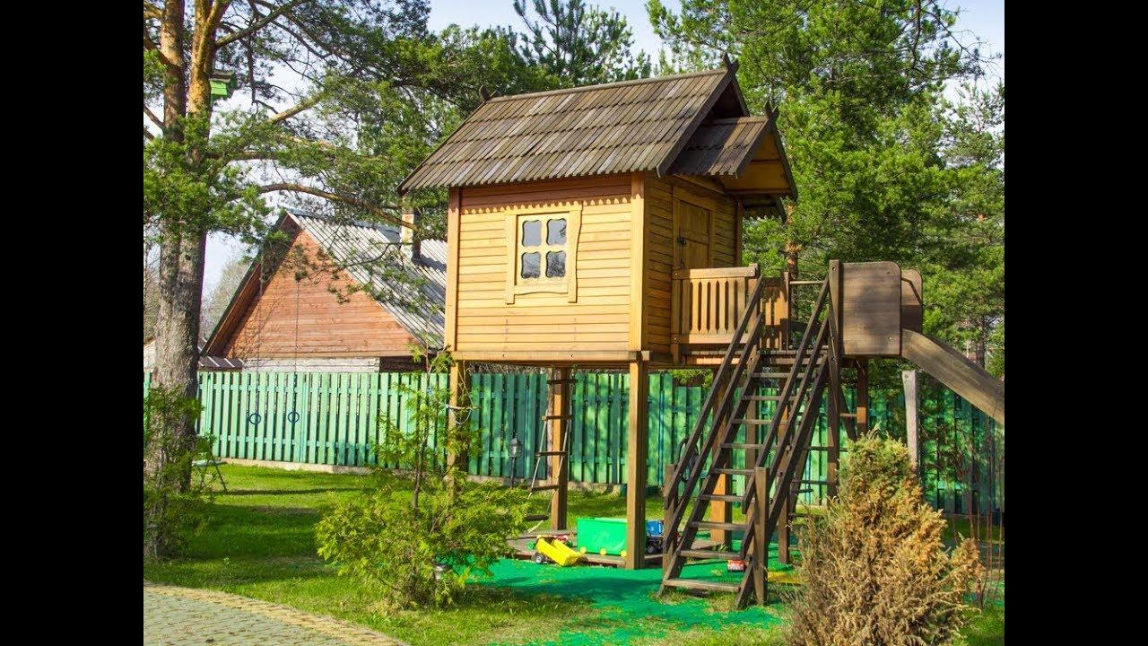 43 Free Diy Playhouse Plans That Children Parents Alike