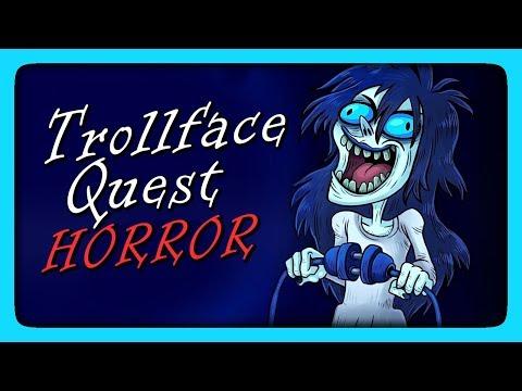 НАС ПУГАЮТ И ТРОЛЛЯТ! ✅ Trollface Quest Horror Прохождение