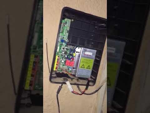 طريقة اصلاح باب الكراج الكهربائي Youtube