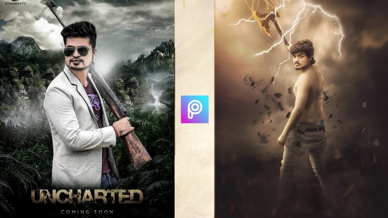 Uncharted Picsart Manipulatio Movie Poster Photo Editing