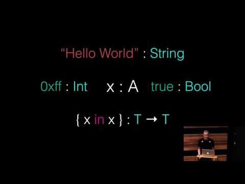 A Type System From Scratch – Robert Widmann