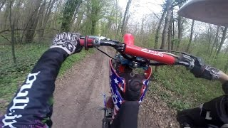 YCF 150 VS 140 YX / FAIL EN WHEELING ! Terrain