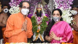 मुख्यमंत्री उद्धव ठाकरे पत्नीसह पंढरपूर आषाढी एकादशी CM Uddhav Thackeray Pandharpur Ashadi Ekadashi
