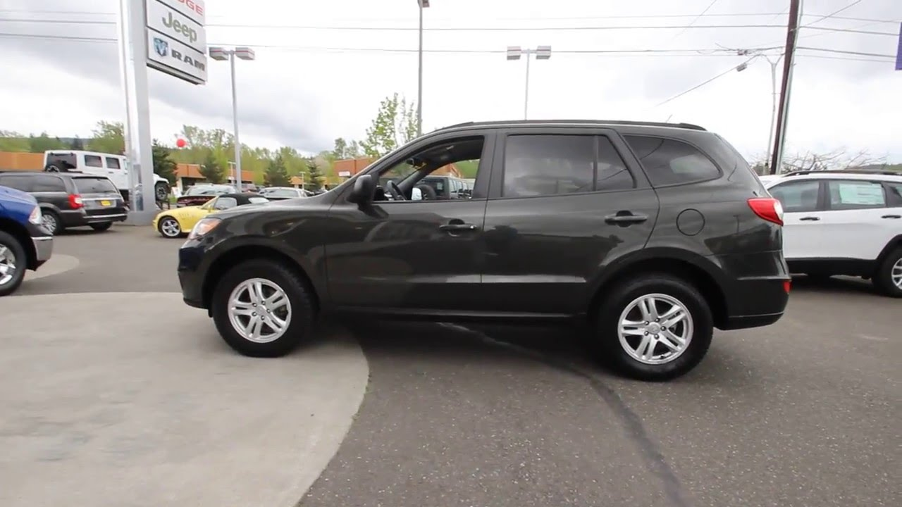 Lovely 2010 Hyundai Santa Fe GLS | Phantom Black Metallic | AH344327 | Skagit  County | Mt Vernon