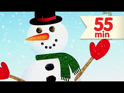 I'm A Little Snowman + More | Kids Songs Collection | Super Simple Songs