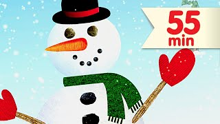 i m a little snowman more   kids songs collection   super simple songs