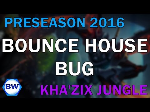 "Preseason 2016 || ""Bounce House Bug"" 