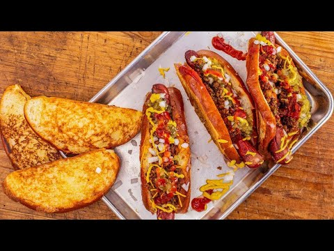 How To Make Chili-Cheese Dogs By Rachael