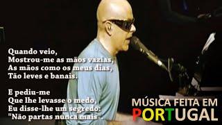 Pedro Abrunhosa - eu não sei quem te perdeu (letra)