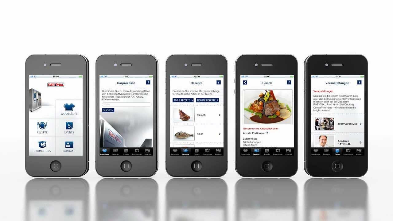 rational kuchen test, rational scc expert app - youtube, Design ideen