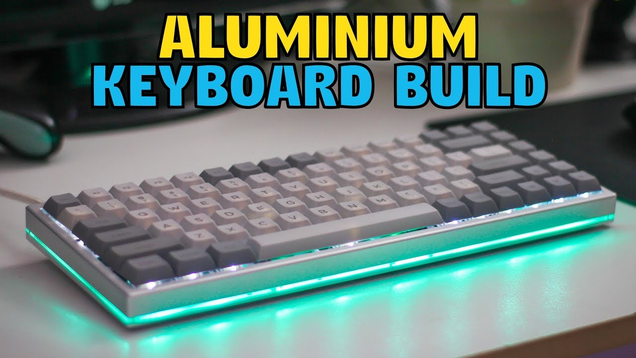 KBD75 Mechanical Keyboard Kit Build & Review - YouTube