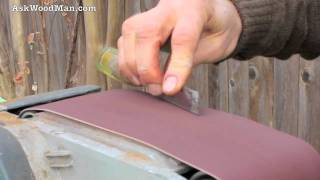 Bring Old Carpenter's Chisel Back To Life With Belt Sander • Complete Sharpening Series Video 6
