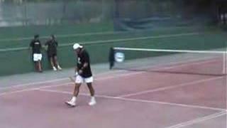 Toni Nadal and young Rafael Nadal in Mallorca