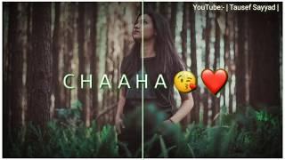 Chahe hai Tujhko chahunga har dam   WhatsApp status New Song   Tausef Sayyad  
