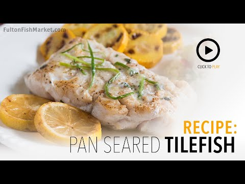 How To Cook Tilefish | Fulton Fish Market