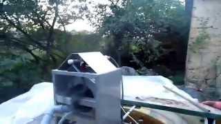 видео барабанный скимме