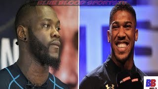 (WOW) EPIC: ANTHONY JOSHUA RESPONDS TO DEONTAY WILDER CRITIQUE OF FIGHT, & SAYS COME SEE ME, REAL ?