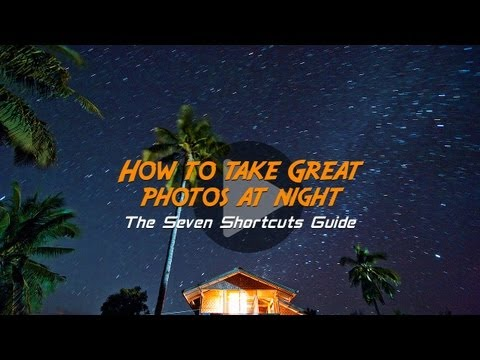 How to Take Great Photos at Night: Free Online Photography Lessons from Tommy Schultz