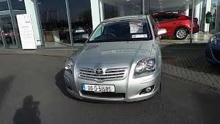 08D51585 - 2008 Toyota Avensis Strata 1.6 4Dr Just In 10,495
