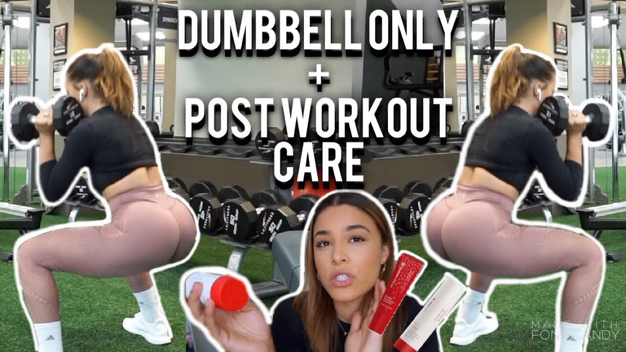 DUMBELL ONLY LEG WORKOUT + POST WORKOUT ROUTINE