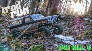 Traxxas TRX-4 Out for an Evening Trail Run | Crawling Edit | Overkill RC