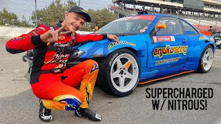 FD Irwindale Round 7: Competing in a Rental! (900HP LS S14)