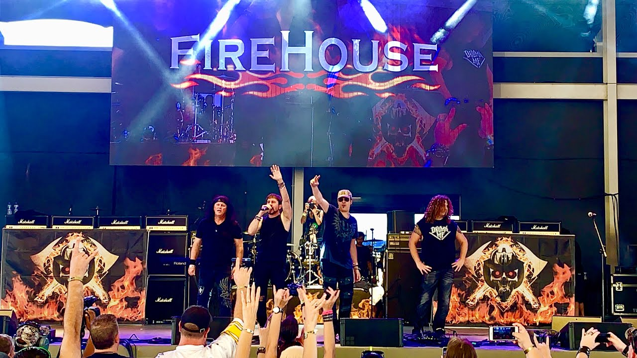 Download FireHouse -  Live @Rockfest80s Full HD Concert, Miramar, FL 11/11/2018