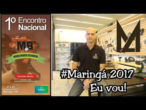 Convite para 1° Encontro Nacional de Marceneiros do Brasil - Marcenaria Amadora thumbnail