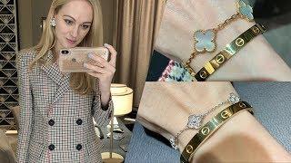 Van Cleef and Arpels shopping vlog | Unboxing VCA Alhambra bracelet