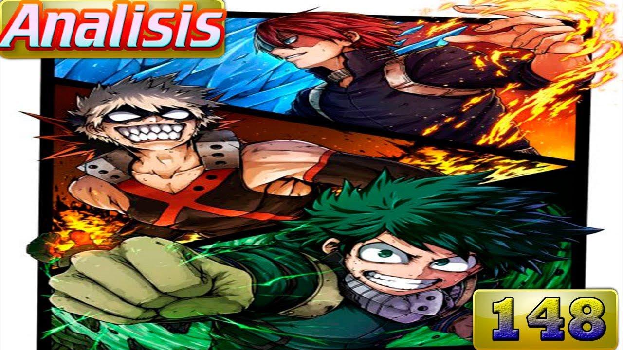 Boku no hero academia review brutal gamer - Boku No Hero Academia 149 Relajate Irinaka Analisis Review Manga Teorias 150