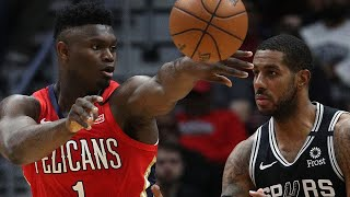 New Orleans Pelicans vs San Antonio Spurs Full Game Highlights | January 22, 2019-20 NBA Season