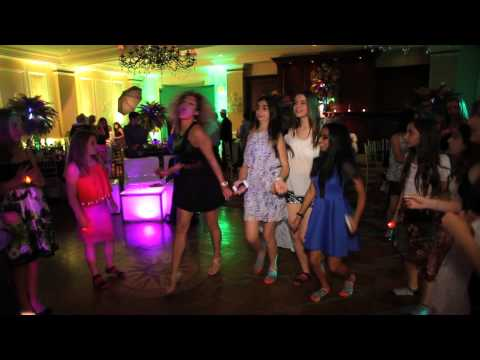 Long Island Westchester Jewish Bar Bat Mitzvah DJs MCs Lights Green Screen Photo Favors NYC NY NJ CT