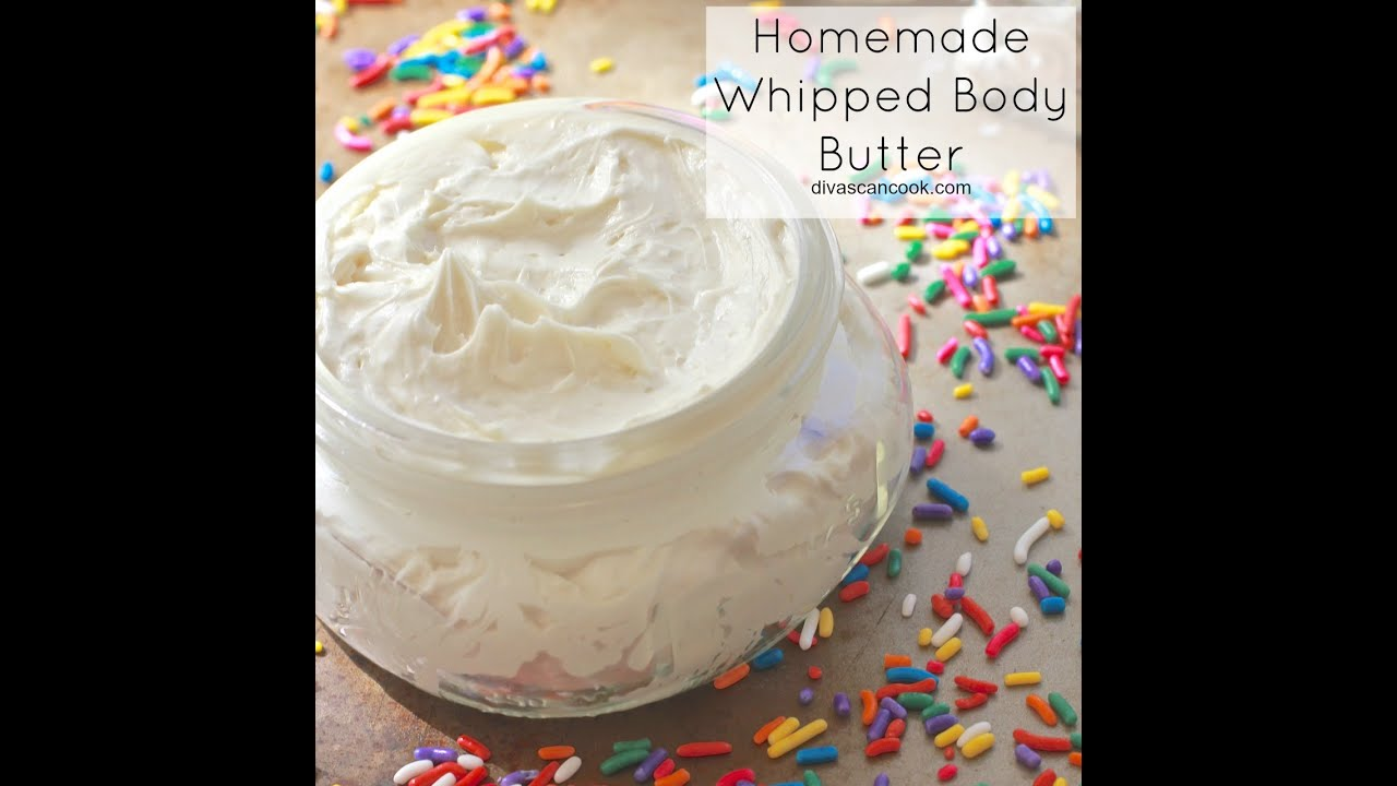 Whipped body butter recipe vanilla buttercream youtube - Homemade scent recipes ...