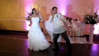Lady Gaga, Michael Jackson etc. - Funniest First Wedding Dance - the best ever! Yvan and Rochelle's