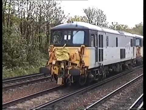 Classic British Rail  - Wandsworth Road on 22nd April 1997