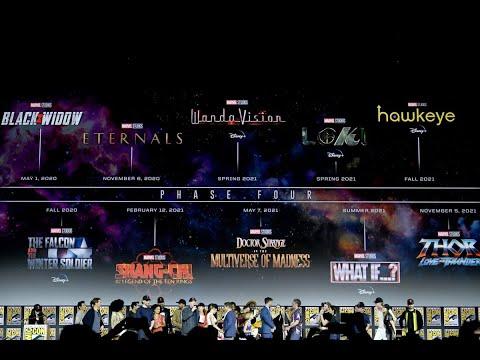 Everything Revealed For Marvel Phase 4
