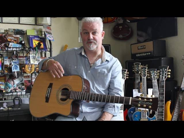 Review of a Cassidy Whorlton CA751C by Robb Weir of the Tygers of Pan Tang