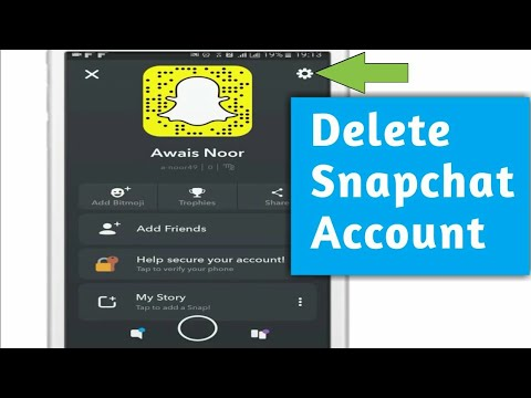 ✔How To Delete Snapchat Account 2019