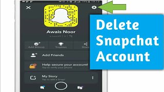 How to delete Snapchat account 2018 (Android)