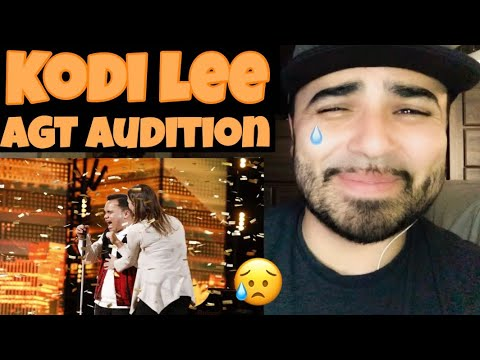 Reacting To Kodi Lee Audition On AGT